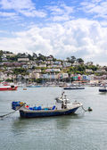 River Dart at Dartmouth Estuary — Stock Photo