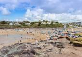 Polzeath Beach — Стоковое фото