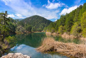 Lake Valdeazores — Stock Photo