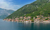 View Approaching Kotor — Stock Photo