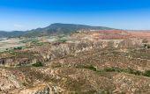 从 Homenaje 塔阿莱多城堡的视图 — 图库照片