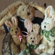 Easter Bunnies Family — Stock Photo #68260695