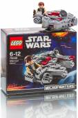 LEGO Star Wars - Millennium Falcon on white — Stock Photo