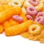 ������, ������: Crispy cornflakes sticks and rings
