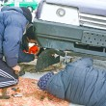 Urgent car repair — Stock Photo #70080707