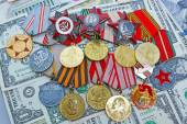 Medals and orders  in the US — Stock Photo