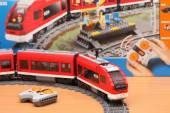 LEGO City Passenger Train 7938 — Foto Stock