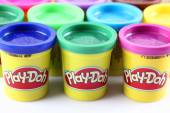 Play-Doh modeling compound — Stock Photo