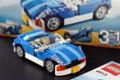 LEGO Creator set Blue Roadster — Stok fotoğraf