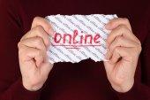 Online — Stock Photo