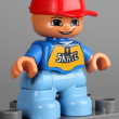 Lego Duplo boy figure — Stock Photo #61932807