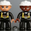 Lego Duplo fireman figures — Stock Photo #61933979
