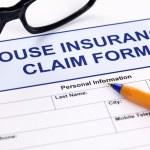 House insurance claim form — Stock Photo #61935223