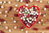 I love mixed legume beans — Stock Photo
