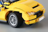 "LEGO Creator set ""3-in-1 Cool Cruiser"" with focus on wheel. — Stock Photo"