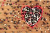I love mixed peppercorns — Stock Photo