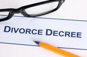 Divorce Decree — Stock Photo