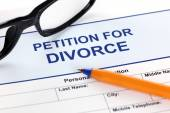 Petition for Divorce — Stock Photo