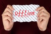 Offline — Stock Photo