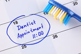 Dentist appointment — Stock Photo