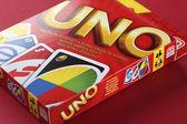 UNO game box — Foto Stock