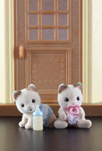 Sylvanian family kittens toy — Stockfoto