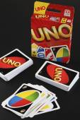 UNO game cards — Foto Stock