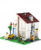 LEGO Family House — Stock Photo