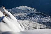 Obserwatorium w górach — Zdjęcie stockowe