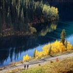 Kolsay Lake in  Kazakhstan — Stock Photo #74929543