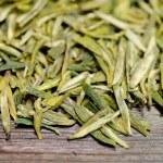 Bulk Green Tea Leaves — Stock Photo #68252215