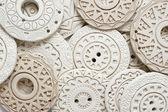 Ethnic Clay Jewelry — Stock Photo