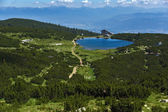 Lake Bezbog and Bezbog hut, Pirin Mountain — Foto Stock