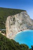 Porto Katsiki Beach, Lefkada, Ionian Islands — Stock Photo