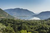 Nidri Bay, Lefkada, Ionian Islands — Stock Photo