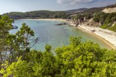 Tristinika Beach, Chalkidiki, Sithonia, Central Macedonia — Stock Photo