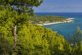 Platanitsi Beach, Chalkidiki, Sithonia, Central Macedonia — Stock Photo