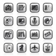 Hobbies and leisure Icons — Stock Vector #57999777
