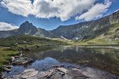 The Trefoil Lake, The Seven Rila Lakes, Rila Mountain — Stock Photo