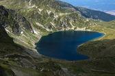The Kidney lake, The Seven Rila Lakes, Rila Mountain — Stock Photo
