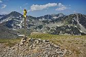 Amazing panorama near Vihren Peak, Pirin Mountain — Stock Photo