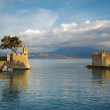 Fortification at the port of Nafpaktos town — Stock Photo #77978342