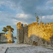 Fortification at the port of Nafpaktos town — Stock Photo #77978494