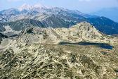 Amazing view from Kamenitsa  peak in Pirin Mountain — Stock Photo