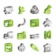 Simple Business and industry icons — Stock Vector #79879442