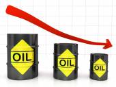 Barrels of Oil — Stock Photo