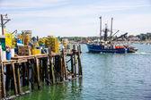 Portland Maine Harbor Scene — Stock Photo