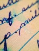 Carta vieja — Foto de Stock