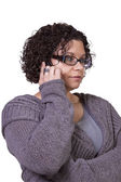 Cute Girl Talking on the Phone — Stock Photo