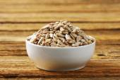 Raw sunflower seed — Stock Photo